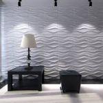 3D панели для стен. 3D панели своими руками - как установить