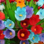 Цветы из пластиковых бутылок. Цветы своими руками - как сделать цветы.