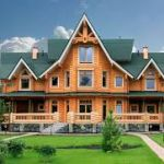 Дома из бревен своими руками. Строительство дома из больших бревен