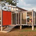 Дома из контейнеров своими руками. Проект домов из контейнеров.