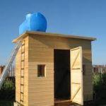 Душ для дачи с подогревом. Как сделать теплый душ на даче?