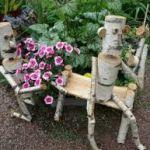 Фигурки для сада. Как сделать фигурки своими руками