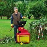 Какой купить садовый измельчитель веток (травы).  Электрический садовый измельчитель