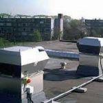 Крышные вентиляторы в современном строительстве