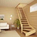 Лестница для дома своими руками. Как установить лестницу.