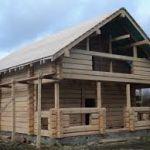 Строительство домов из лафета. Как построить дом из лафета - цены, характеристики