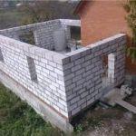 Пристройка к дому своими руками.Строительство пристройки к дому из пеноблоков