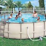 Выбираем и устанавливаем каркасный бассейн для дачи. Каркасный бассейн своими руками.