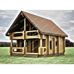 Высокопрофессиональное возведение домов из профилированного бруса от компании «DomDomino»