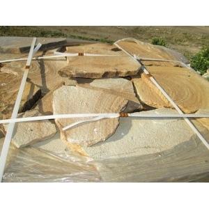 Камень Цветной песчаник натуральный природный пластушка