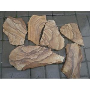 Продаем камень песчаник Тигровый натуральный природный