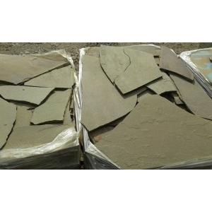 Продаем песчаник серо-зеленый камень природный натуральный пластушка