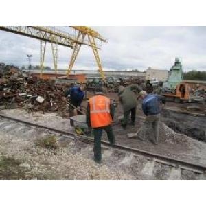Строительство и ремонт подкрановых путей
